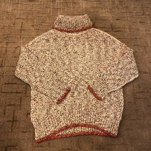 Free People Bulky Turtleneck Sweater